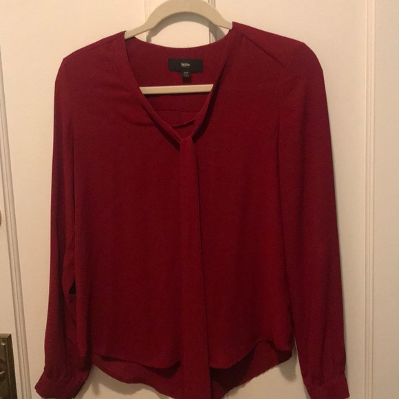 Mossimo Tops - Red Mossimo blouse